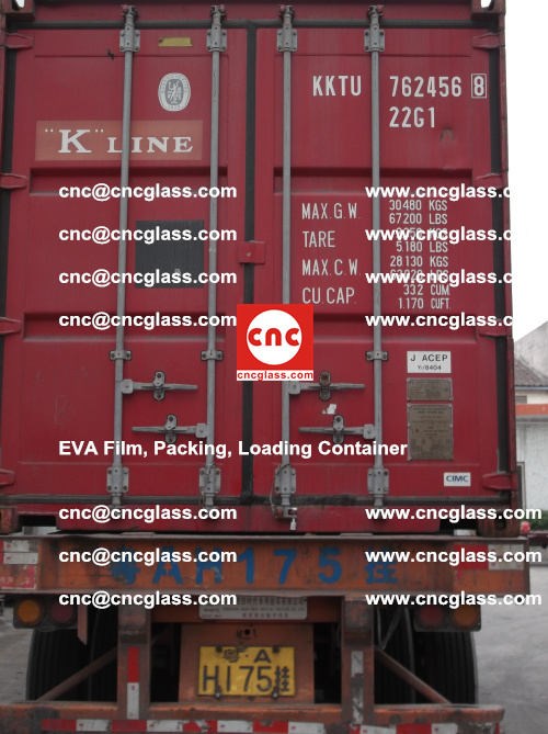 EVA Film, Package, Loading Container, Laminated Glass, Safety Glazing (1)