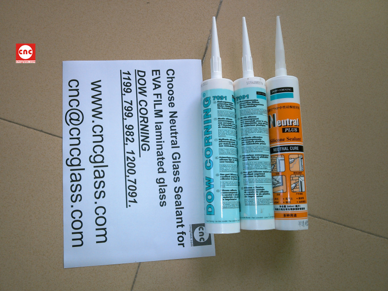 Neutral Glass Sealant for EVA FILM laminated glass (14)