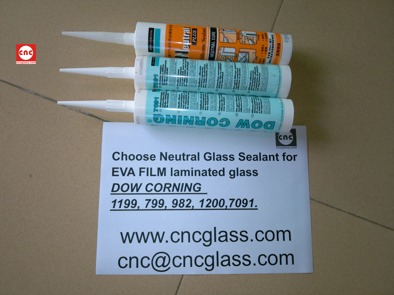 Neutral Glass Sealant for EVA FILM laminated glass (16)