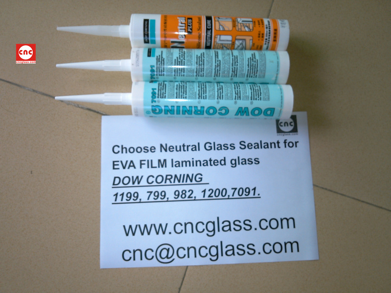 Neutral Glass Sealant for EVA FILM laminated glass (17)