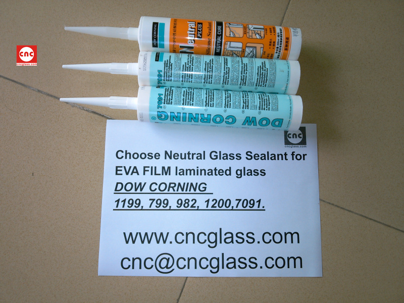 Neutral Glass Sealant for EVA FILM laminated glass (19)
