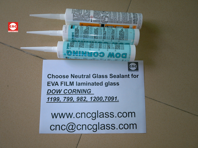 Neutral Glass Sealant for EVA FILM laminated glass (3)