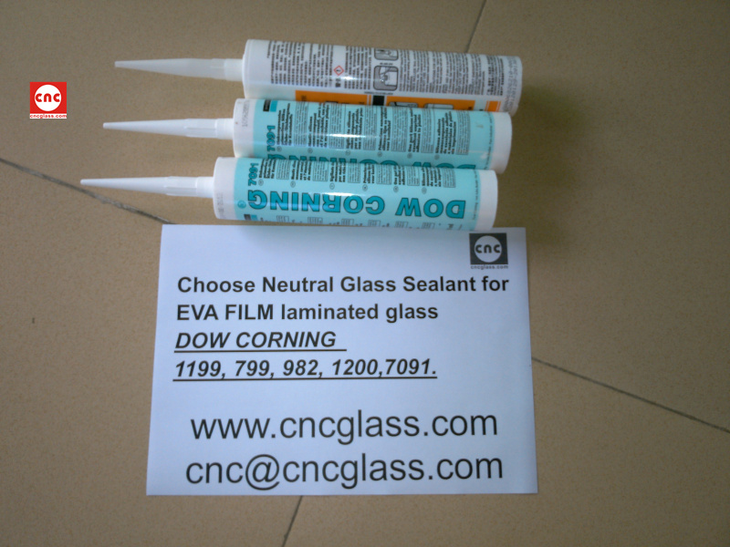 Neutral Glass Sealant for EVA FILM laminated glass (5)