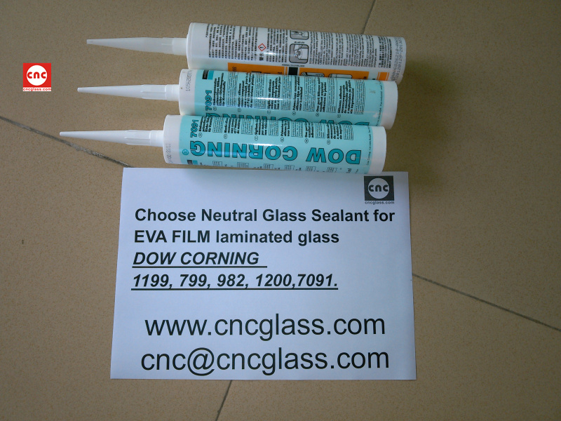 Neutral Glass Sealant for EVA FILM laminated glass (6)