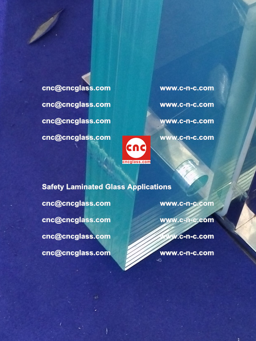 Safety laminated glass, safety glazing, EVA FIlm, Glass Interlayer (75)