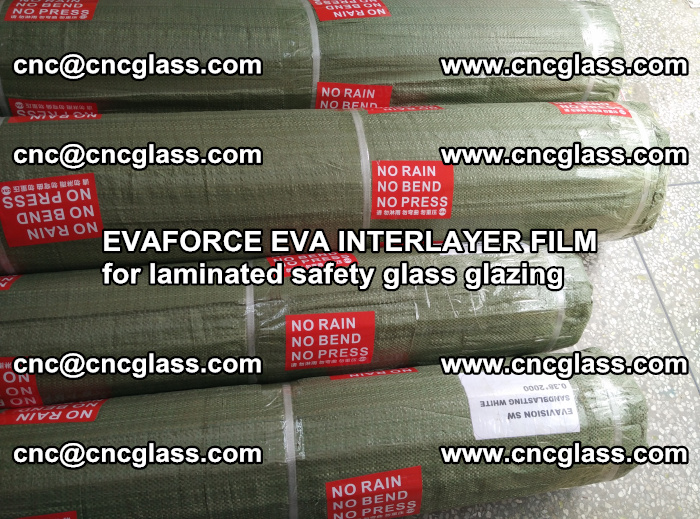 EVAFORCE EVA INTERLAYER FILM for laminated safety glass glazing (102)