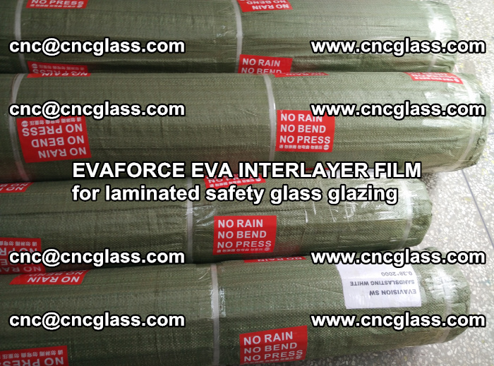 EVAFORCE EVA INTERLAYER FILM for laminated safety glass glazing (103)