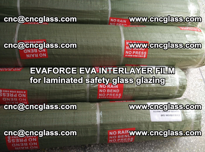 EVAFORCE EVA INTERLAYER FILM for laminated safety glass glazing (104)