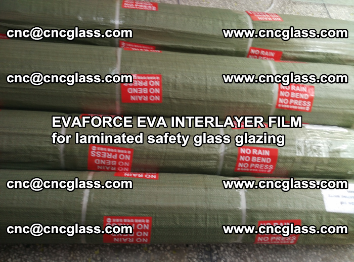 EVAFORCE EVA INTERLAYER FILM for laminated safety glass glazing (106)