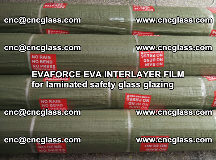 EVAFORCE EVA INTERLAYER FILM for laminated safety glass glazing (108)