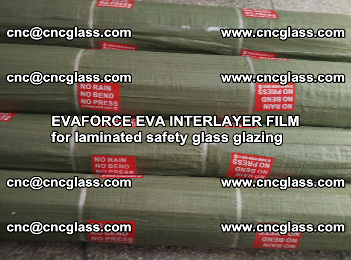 EVAFORCE EVA INTERLAYER FILM for laminated safety glass glazing (109)