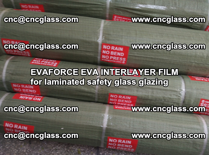 EVAFORCE EVA INTERLAYER FILM for laminated safety glass glazing (111)