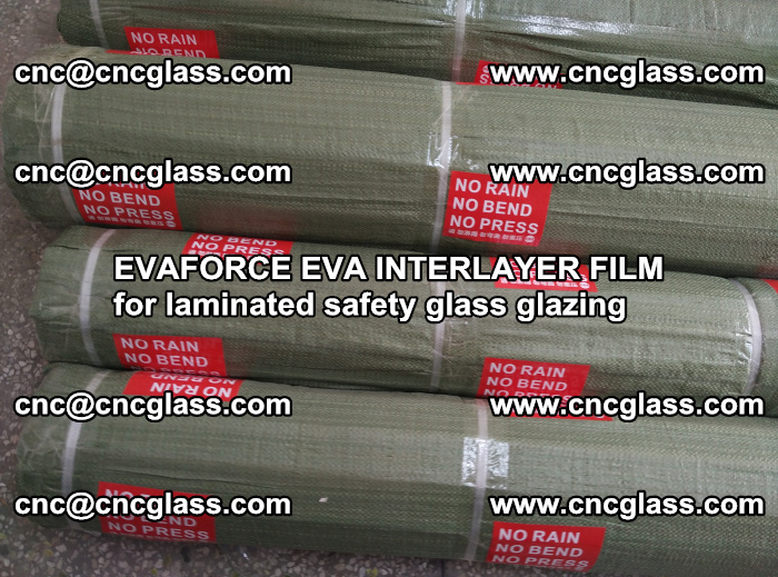 EVAFORCE EVA INTERLAYER FILM for laminated safety glass glazing (112)