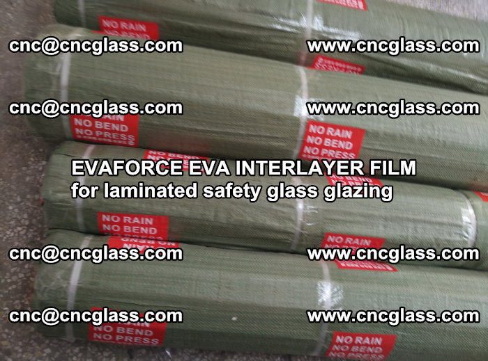 EVAFORCE EVA INTERLAYER FILM for laminated safety glass glazing (113)