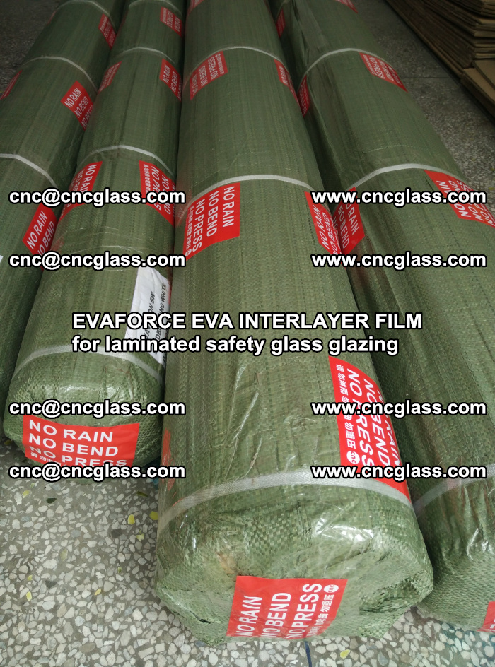 EVAFORCE EVA INTERLAYER FILM for laminated safety glass glazing (114)