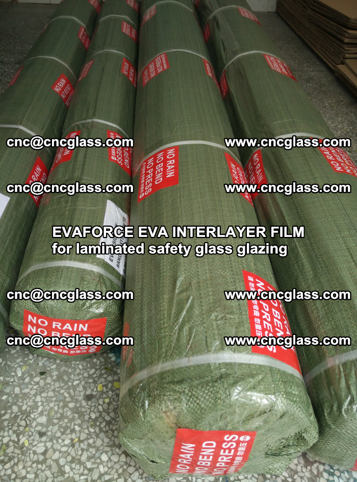 EVAFORCE EVA INTERLAYER FILM for laminated safety glass glazing (116)