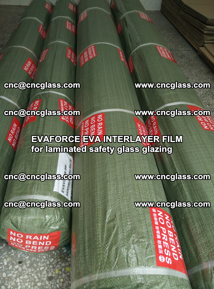 EVAFORCE EVA INTERLAYER FILM for laminated safety glass glazing (117)