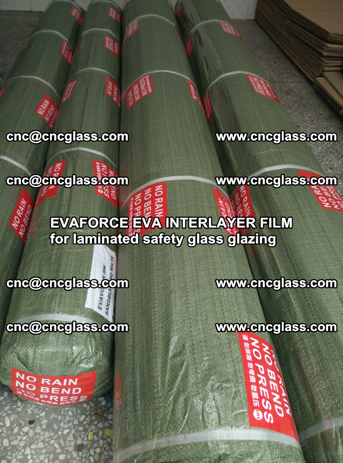 EVAFORCE EVA INTERLAYER FILM for laminated safety glass glazing (119)