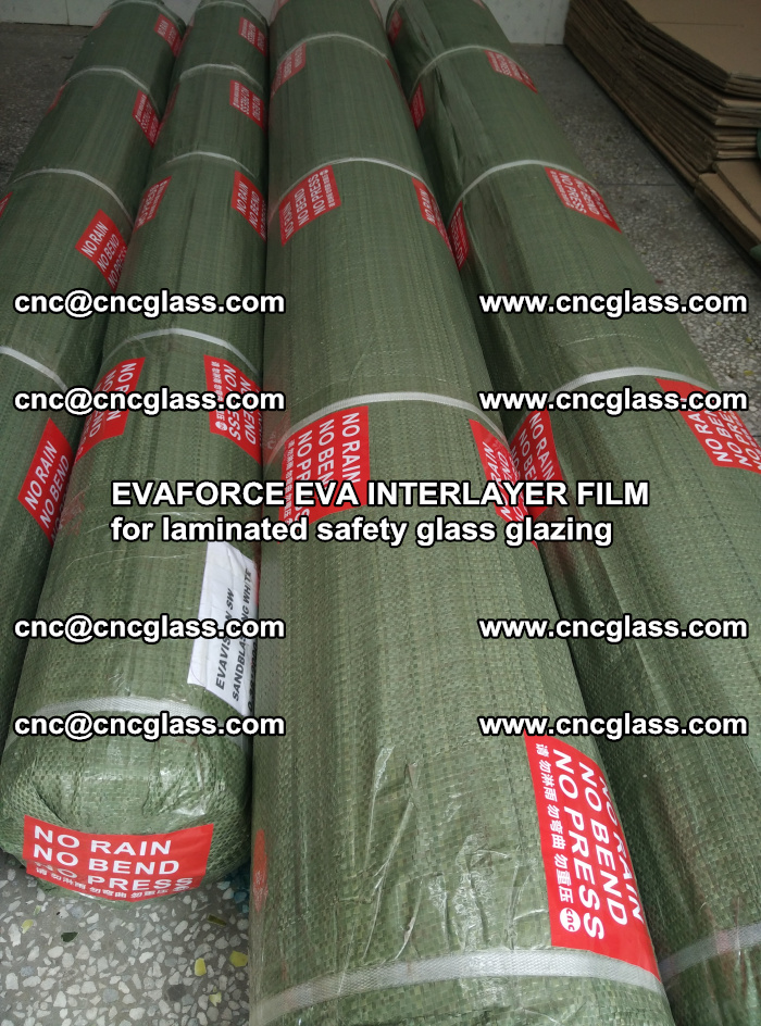 EVAFORCE EVA INTERLAYER FILM for laminated safety glass glazing (120)