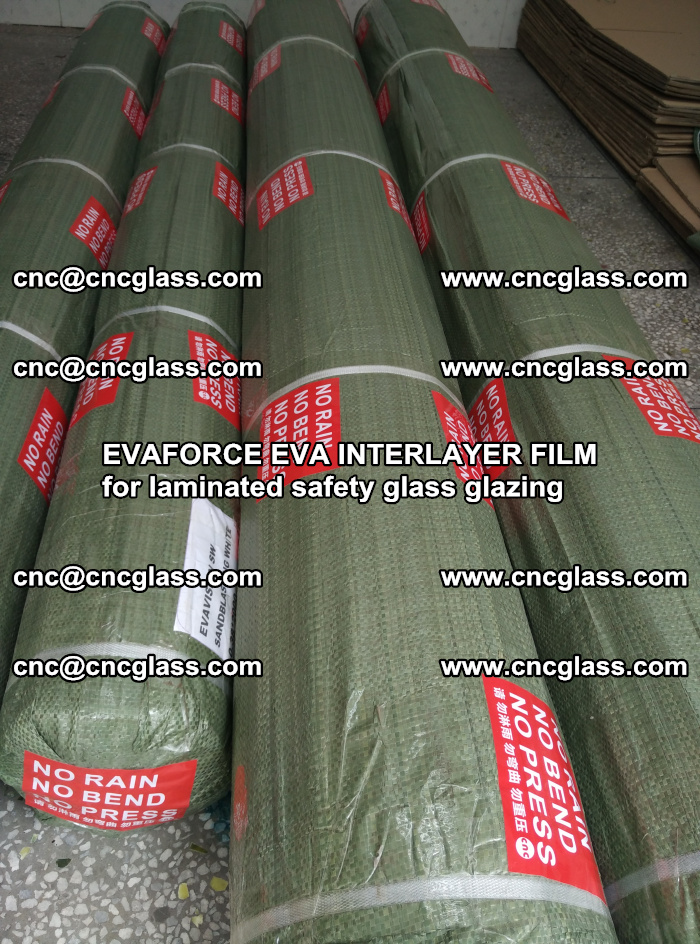 EVAFORCE EVA INTERLAYER FILM for laminated safety glass glazing (121)