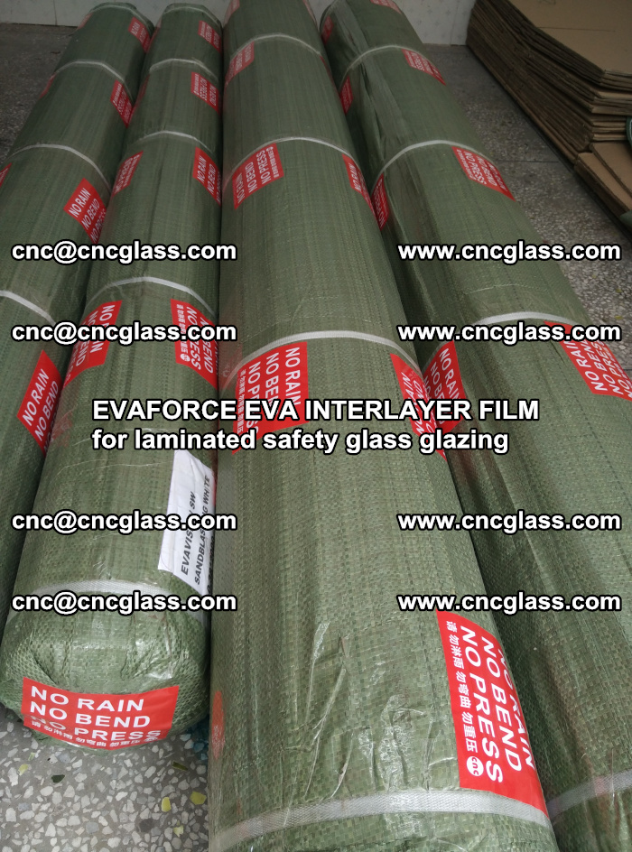 EVAFORCE EVA INTERLAYER FILM for laminated safety glass glazing (122)