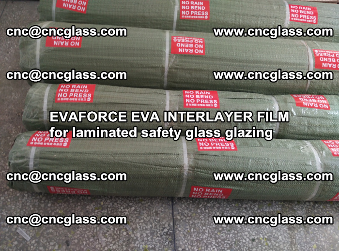 EVAFORCE EVA INTERLAYER FILM for laminated safety glass glazing (51)