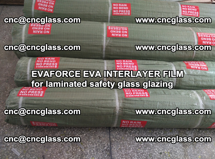 EVAFORCE EVA INTERLAYER FILM for laminated safety glass glazing (52)