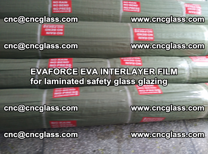 EVAFORCE EVA INTERLAYER FILM for laminated safety glass glazing (54)