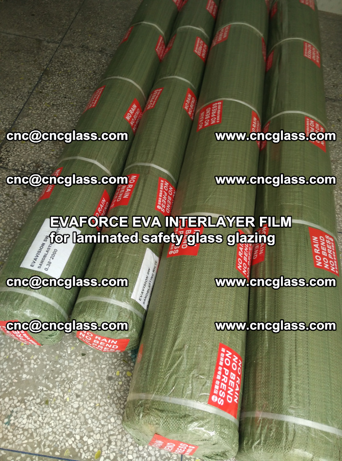 EVAFORCE EVA INTERLAYER FILM for laminated safety glass glazing (55)