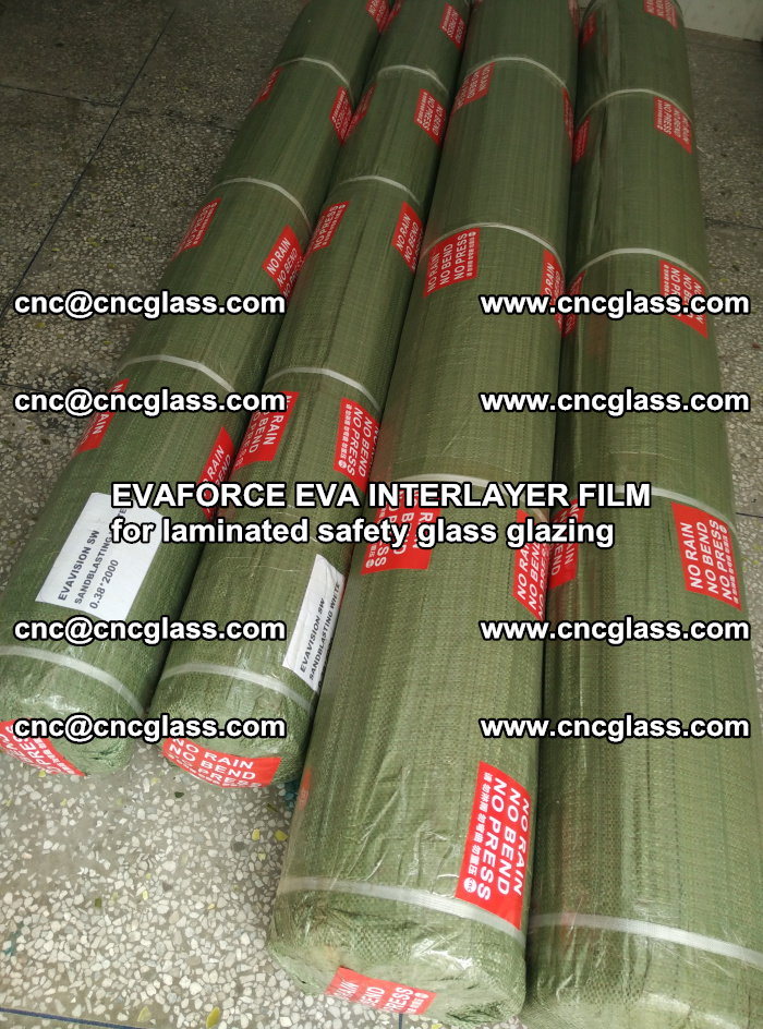 EVAFORCE EVA INTERLAYER FILM for laminated safety glass glazing (56)