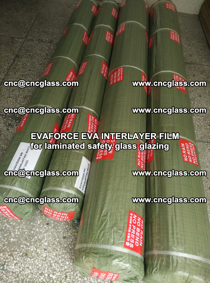 EVAFORCE EVA INTERLAYER FILM for laminated safety glass glazing (57)