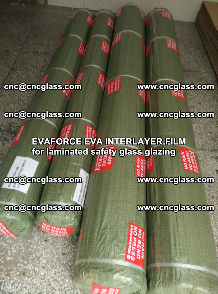 EVAFORCE EVA INTERLAYER FILM for laminated safety glass glazing (58)