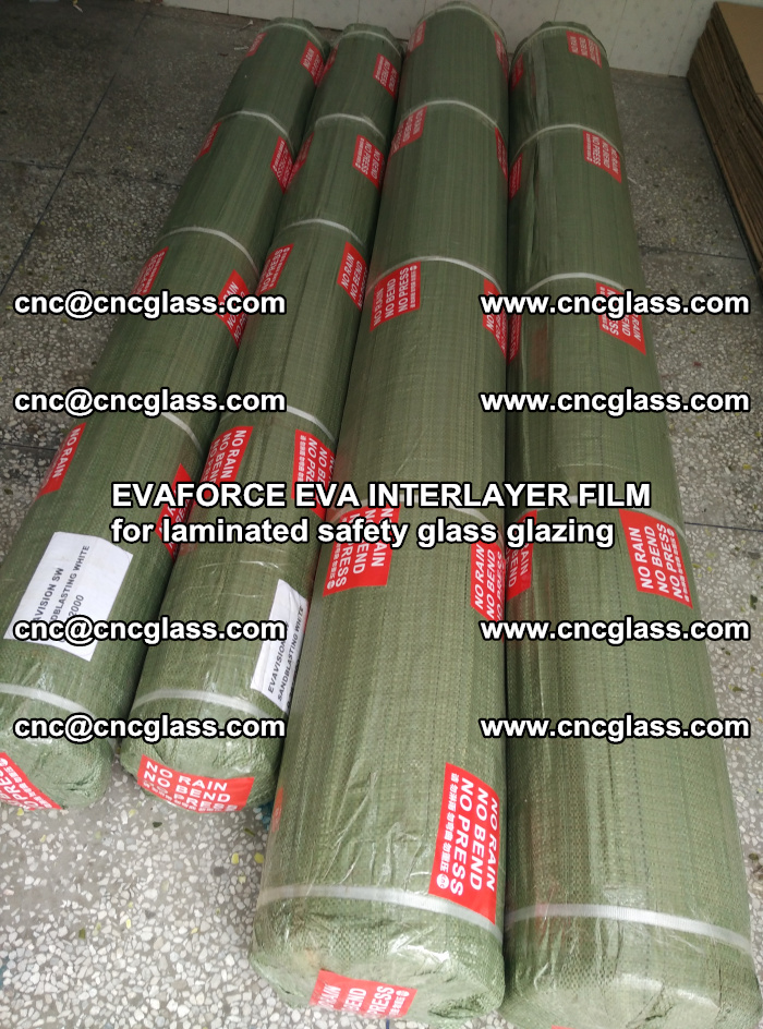 EVAFORCE EVA INTERLAYER FILM for laminated safety glass glazing (60)