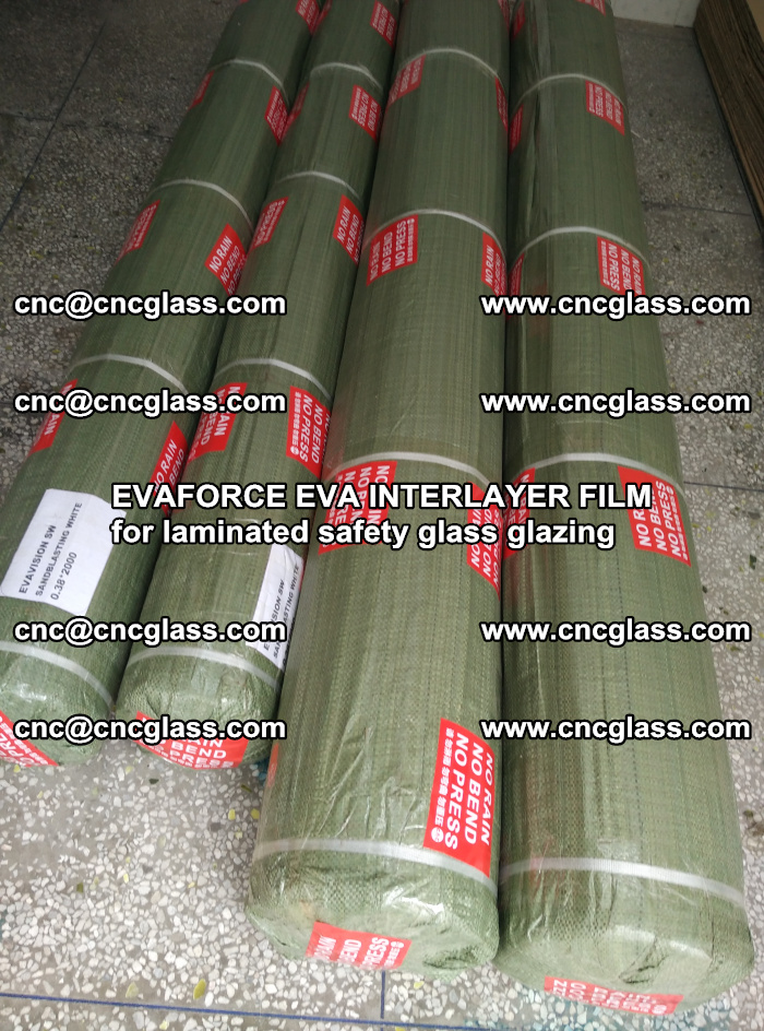 EVAFORCE EVA INTERLAYER FILM for laminated safety glass glazing (61)