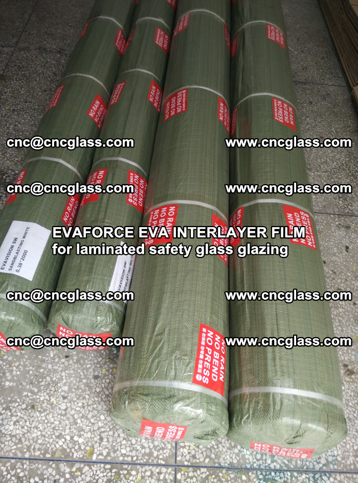 EVAFORCE EVA INTERLAYER FILM for laminated safety glass glazing (62)