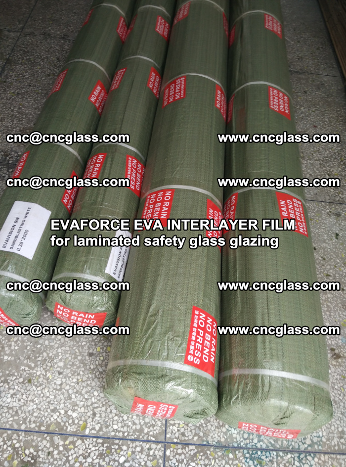EVAFORCE EVA INTERLAYER FILM for laminated safety glass glazing (63)