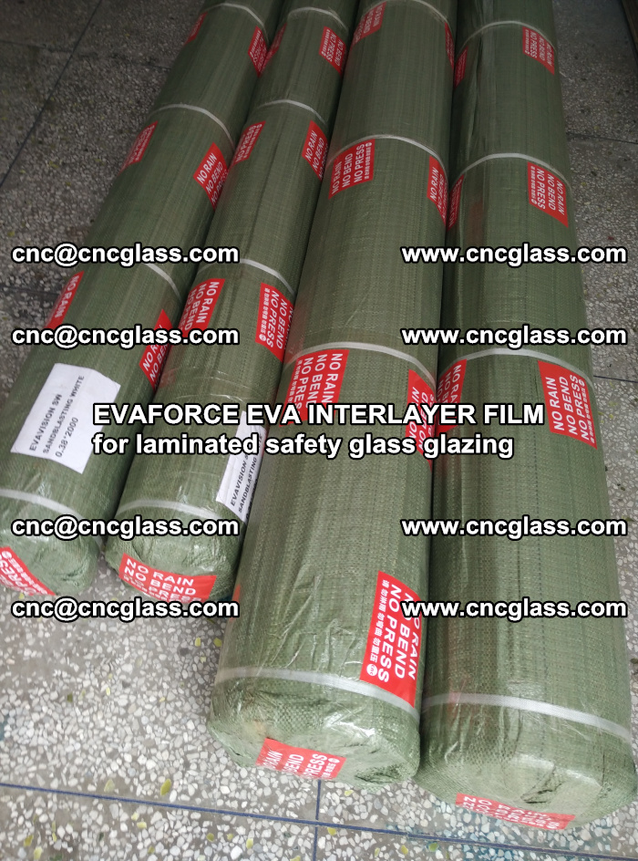 EVAFORCE EVA INTERLAYER FILM for laminated safety glass glazing (64)