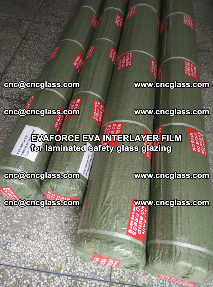 EVAFORCE EVA INTERLAYER FILM for laminated safety glass glazing (65)