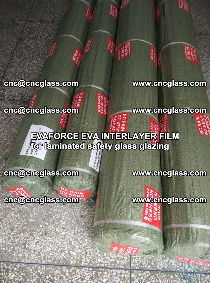 EVAFORCE EVA INTERLAYER FILM for laminated safety glass glazing (66)