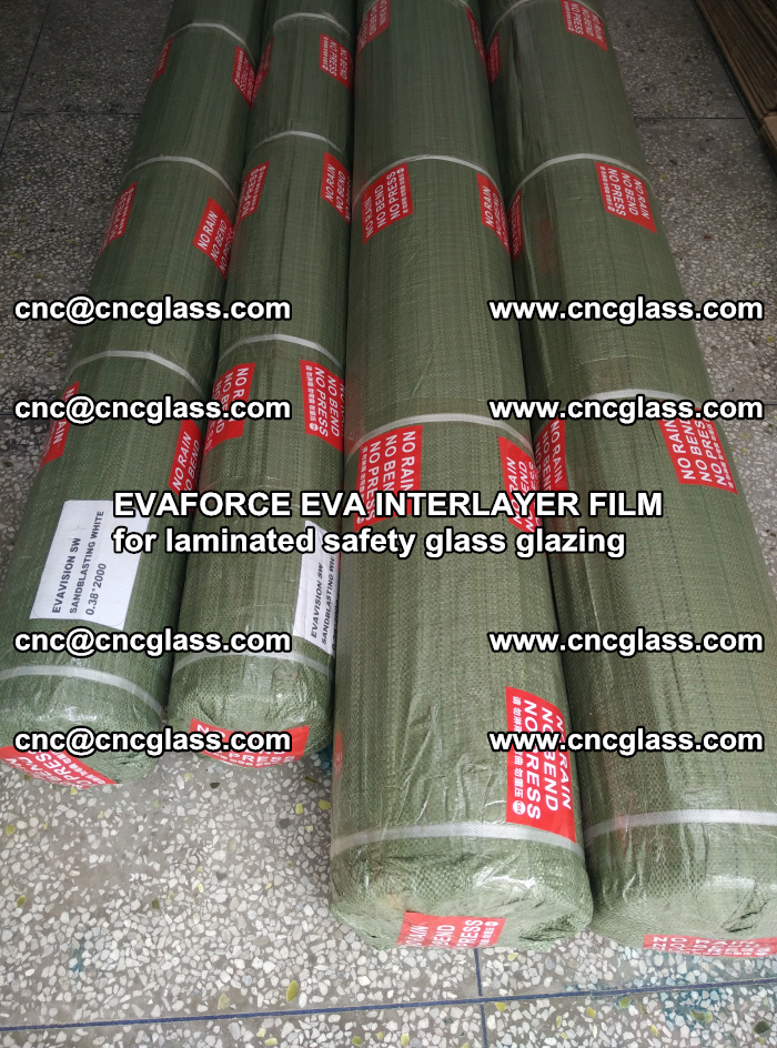 EVAFORCE EVA INTERLAYER FILM for laminated safety glass glazing (67)