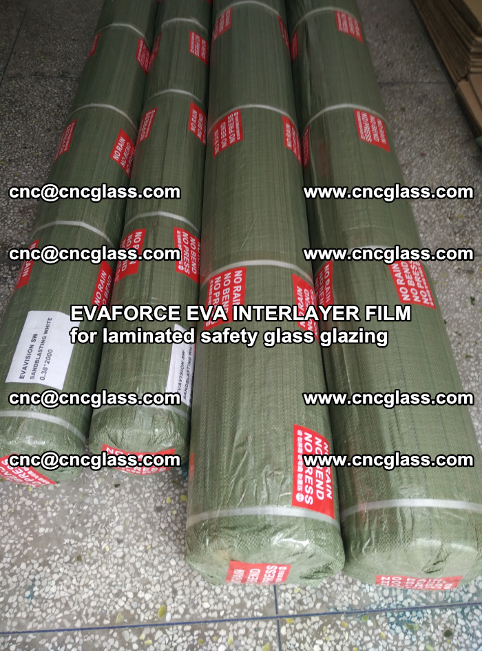 EVAFORCE EVA INTERLAYER FILM for laminated safety glass glazing (68)