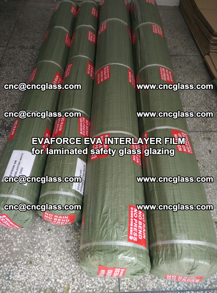 EVAFORCE EVA INTERLAYER FILM for laminated safety glass glazing (69)