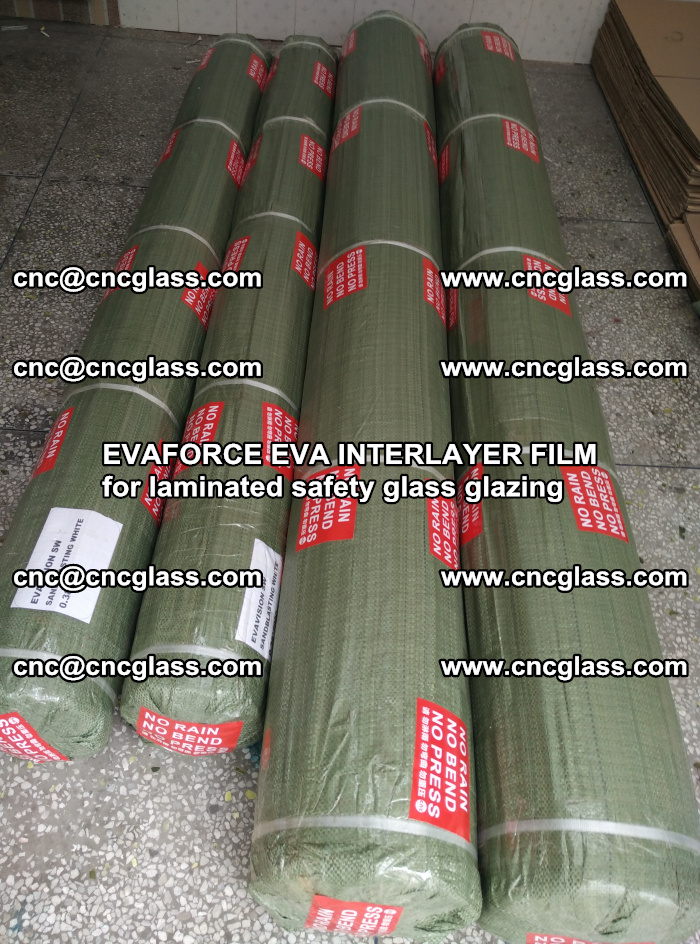 EVAFORCE EVA INTERLAYER FILM for laminated safety glass glazing (70)