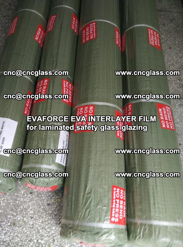 EVAFORCE EVA INTERLAYER FILM for laminated safety glass glazing (72)