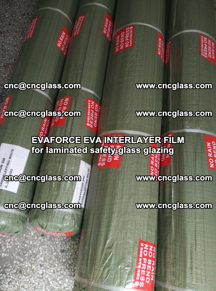 EVAFORCE EVA INTERLAYER FILM for laminated safety glass glazing (73)