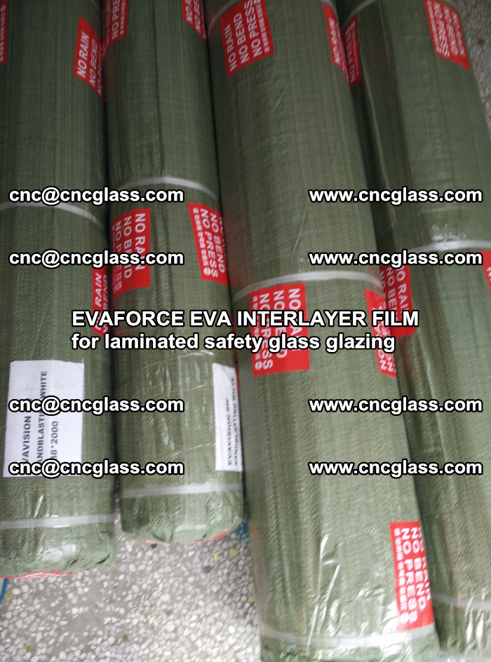 EVAFORCE EVA INTERLAYER FILM for laminated safety glass glazing (74)