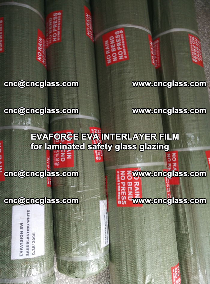 EVAFORCE EVA INTERLAYER FILM for laminated safety glass glazing (76)