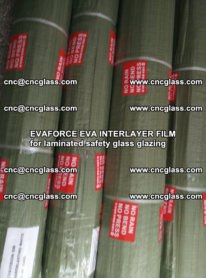 EVAFORCE EVA INTERLAYER FILM for laminated safety glass glazing (77)
