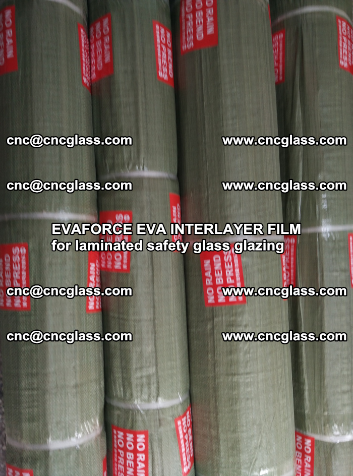 EVAFORCE EVA INTERLAYER FILM for laminated safety glass glazing (79)