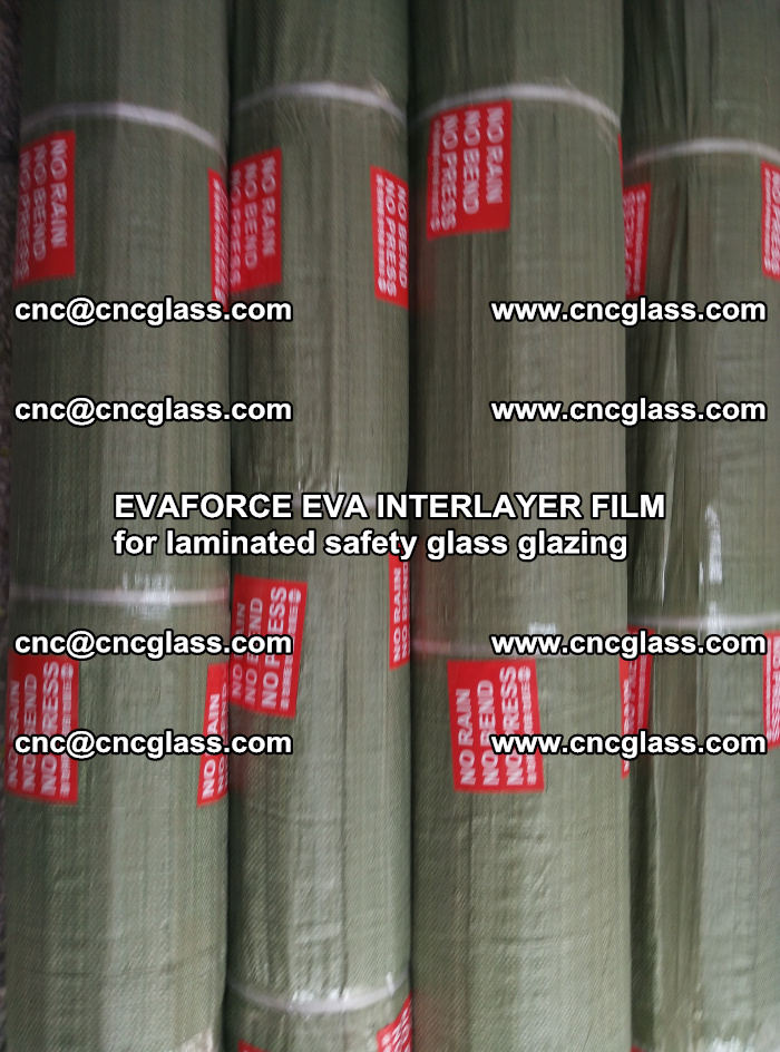 EVAFORCE EVA INTERLAYER FILM for laminated safety glass glazing (80)